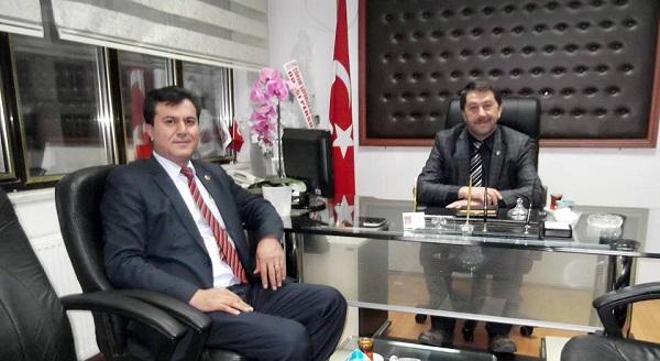 TAHSİN ŞAHİN'E LAÇİN'DEN KUTLAMA