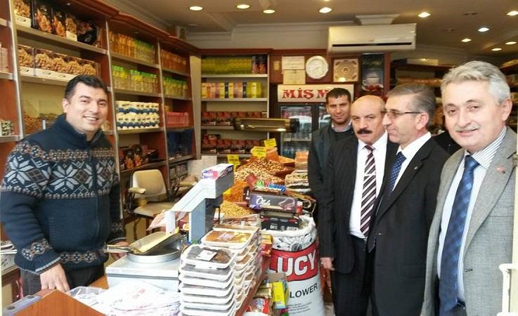 ORHAN BOZKURT'TAN ESNAF ZİYARETLERİ