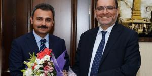 HALK BANK GENEL MÜDÜRÜ ÇORUM'DA