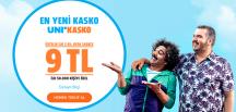 UNİCO SİGORTA'DAN 2 FARKLI KASKO PAKETİ