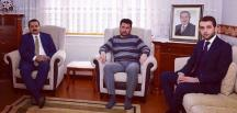 BAKAN'DAN ŞEHİT AİLESİNE ZİYARET