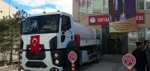 ORTAKÖY'ÜN ARAÇ FİLOSU GENİŞLEDİ