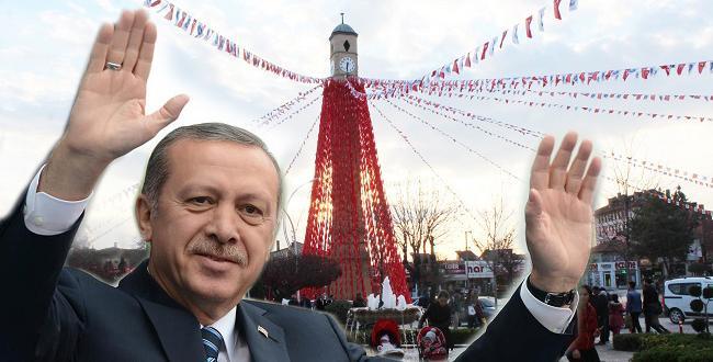 ERDOĞAN ÇORUM'A GELİYOR