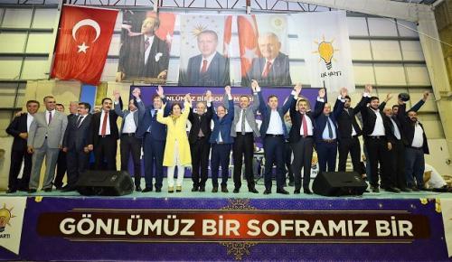 AK PARTİ'DEN BİRLİK VE VEFA İFTARI