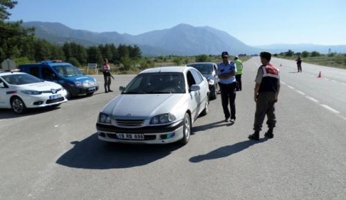 POLİS VE JANDARMADAN ORTAK UYGULAMA