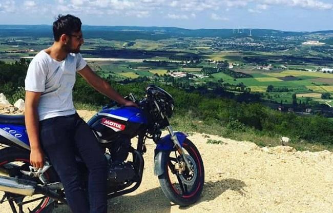 motosiklet kazası (2)