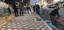 ORTAKÖY'ÜN KALDIRIMLARI RENKLENDİ