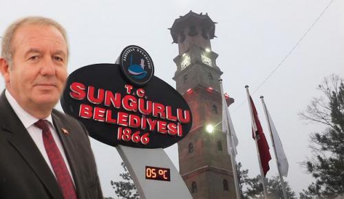 SUNGURLU'NUN ÇEHRESİNİ DEĞİŞTİRDİK