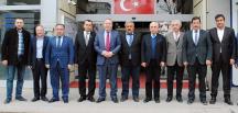ODA BAŞKANLARI ŞAHİNER'İ ZİYARET ETTİ