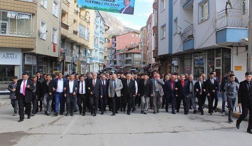 MHP'YE ÇORUM'DA BÜYÜK KATILIM