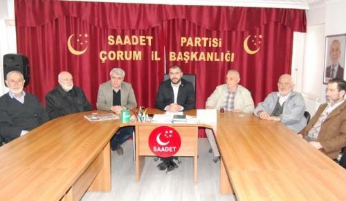 SAADET PARTİSİ'NDEN ADALET VURGUSU