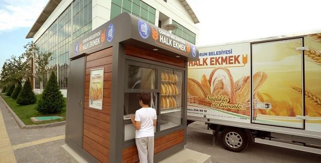 BELEDİYE'DEN HALK EKMEK KARTI
