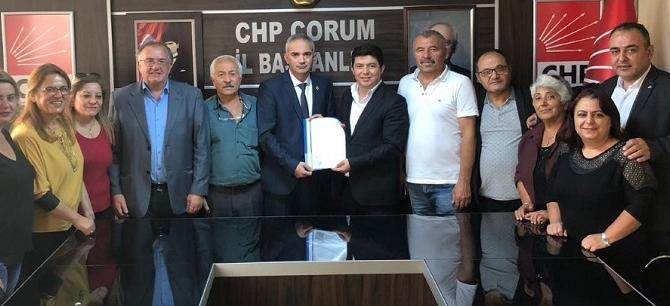 CHP'DE BAŞVURULAR DEVAM EDİYOR