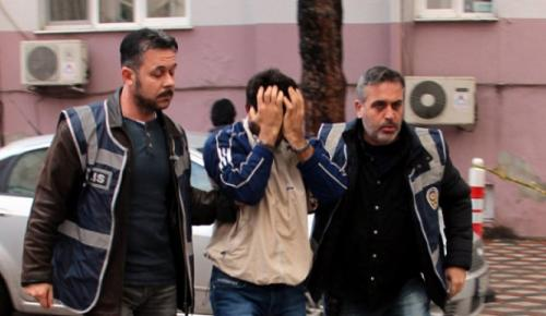 "SUÇ MAKİNESİ ""POLİSE"" YAKALANDI"