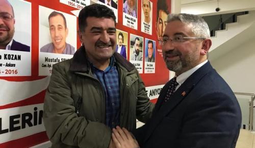 AŞGIN'A ÇOK ANLAMLI DESTEK GELDİ
