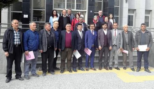 CHP'Lİ BAŞKAN MAZBATASINI ALDI