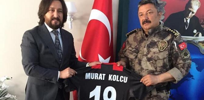 YENİ ÇORUMSPOR'DAN PROTOKOL ZİYARETİ
