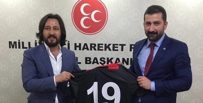 YENİ ÇORUMSPOR'DAN FORMA JESTİ