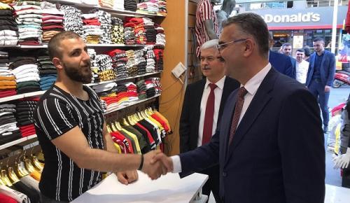 AHLATCI'DAN İSTANBUL'DA DESTEK ÇALIŞMALARI