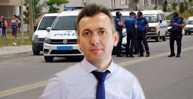MAKAMA POLİS EŞLİĞİNDE OTURDU