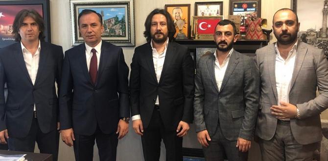CEYLAN'A YENİ ÇORUMSPOR'DAN ZİYARET