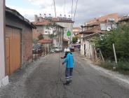 FIRTINADA ELEKTRİK TELLERİ KOPTU