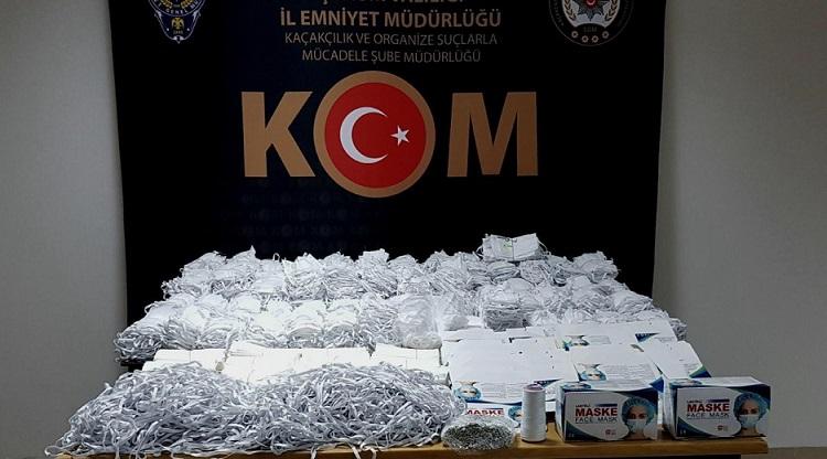 MASKE FIRSATÇILARINA POLİS BASKINI